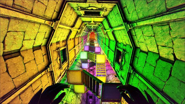 Paper Street Tower of Lights - Interior